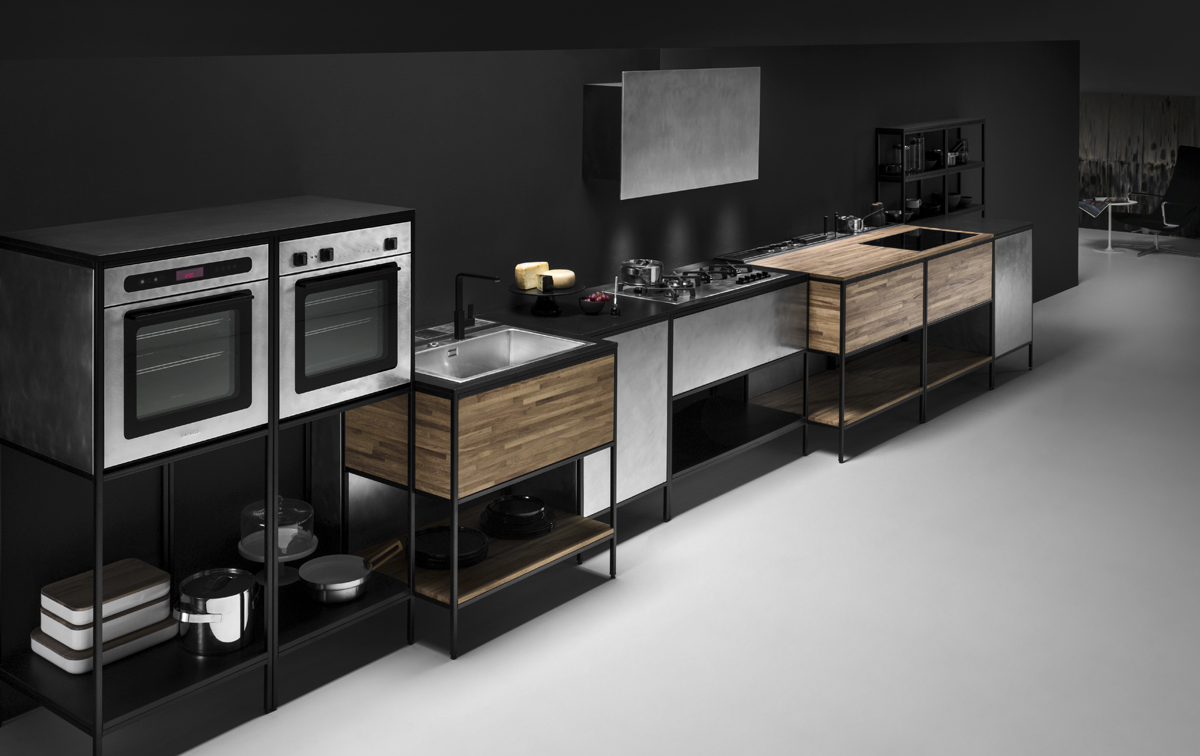 ©Varianti per Barazza - composizione cucina collezione Unique