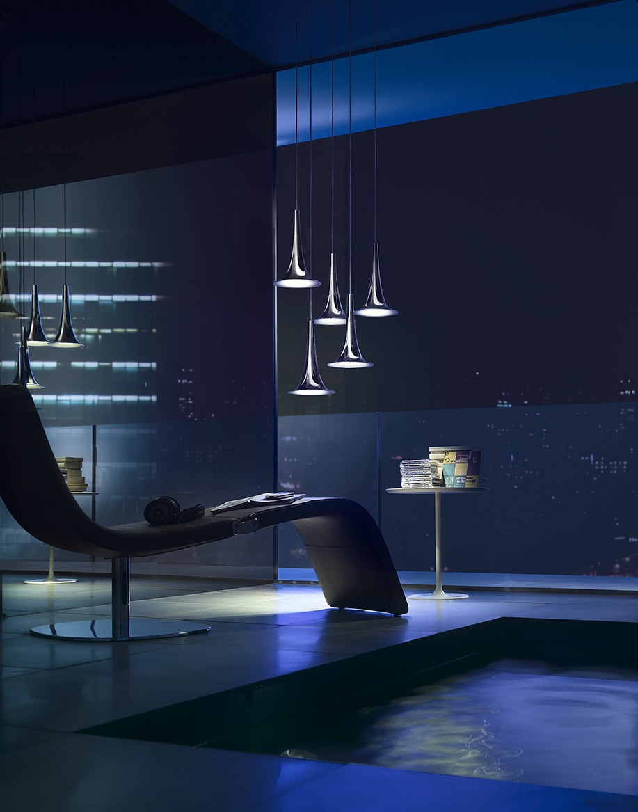 ©Varianti - Axolight -  Nafir1 - design Karim Rashid - ambientazione
