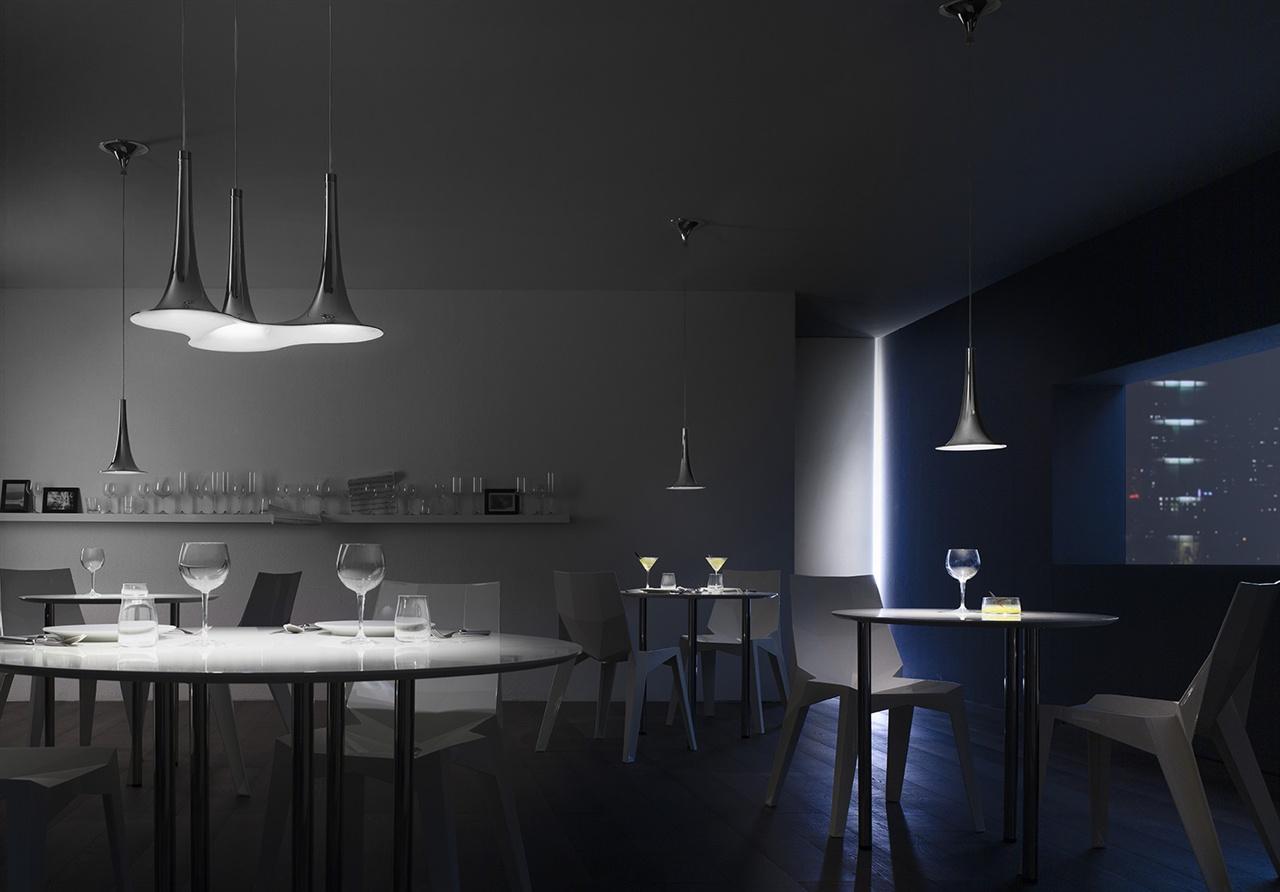 ©Varianti - Axolight -  Nafir1 e Nafir3 - design Karim Rashid - ambientazione