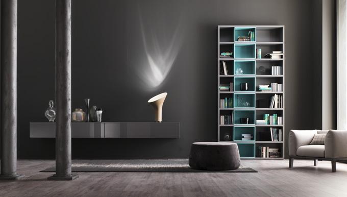 ©Varianti - Alf Uno spa - libreria Modus ambientazione