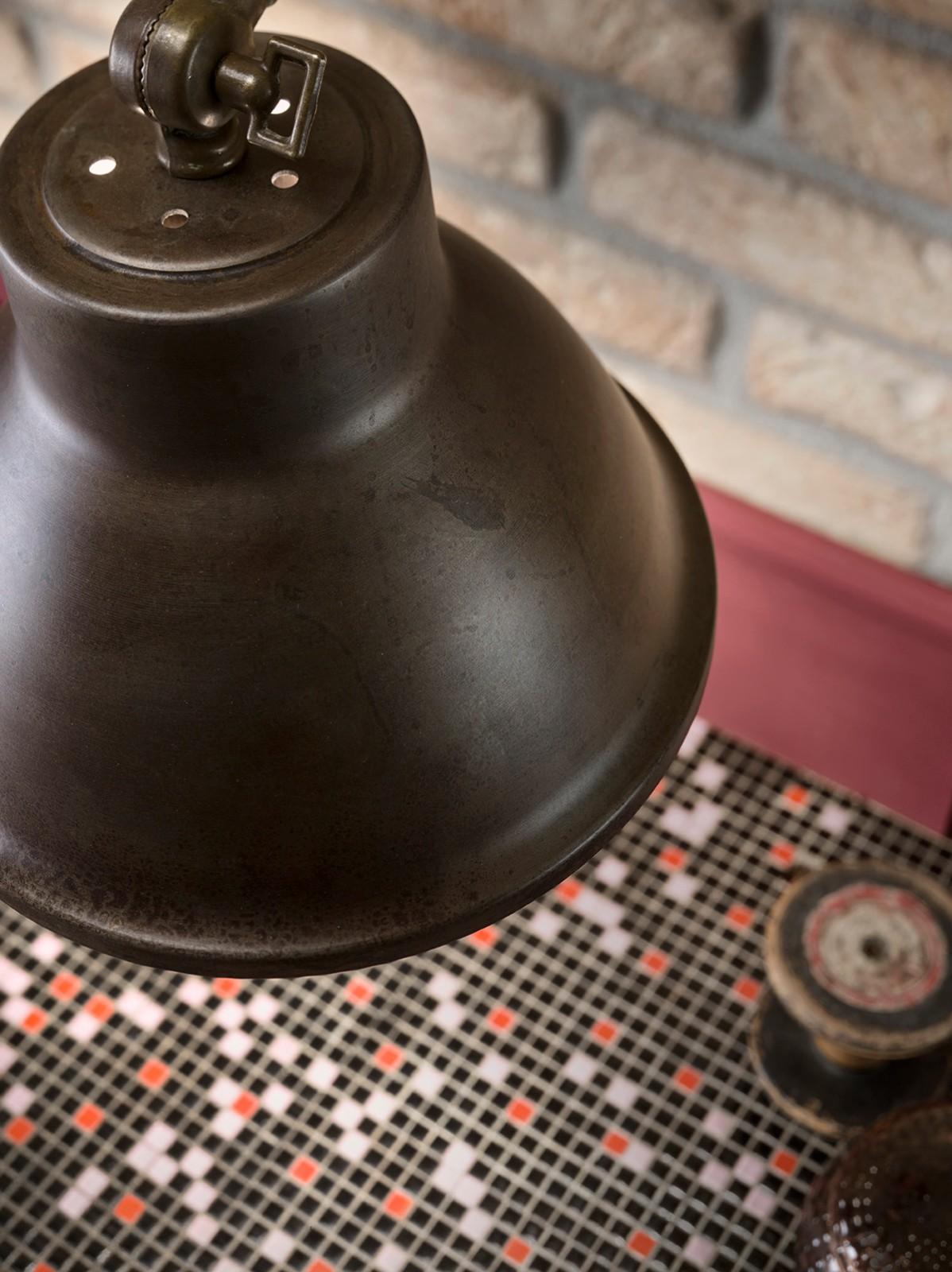 ©Varianti per Il Fanale - lampada serie Loft applique dettaglio