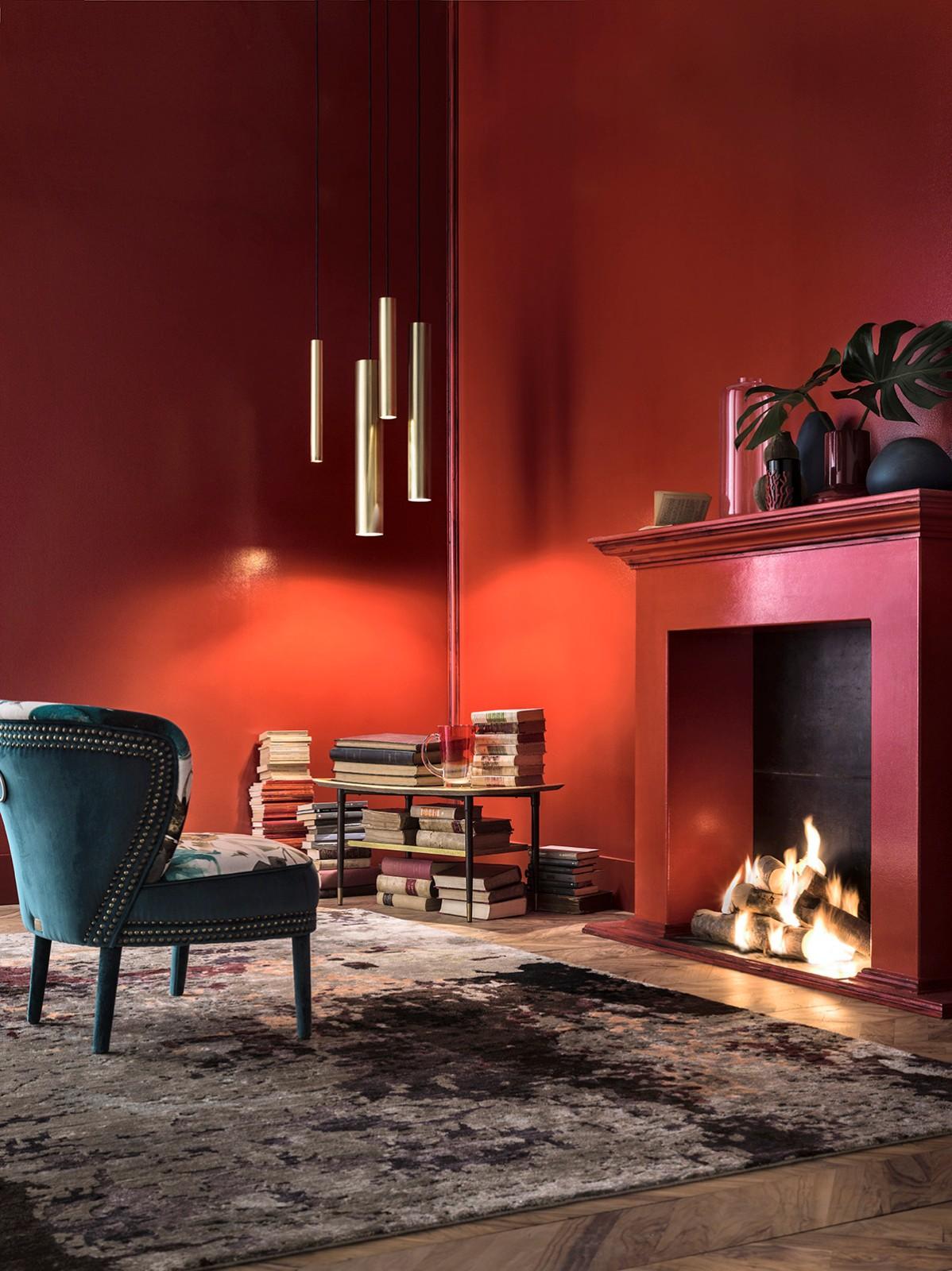 ©Varianti per Il Fanale - lampada serie Girasoli sospensione ottone