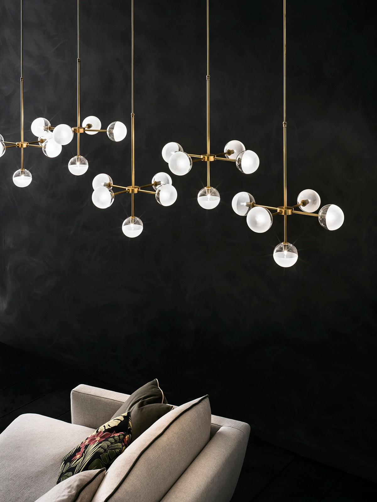 ©Varianti per Il Fanale - lampada serie Molecola sospensione