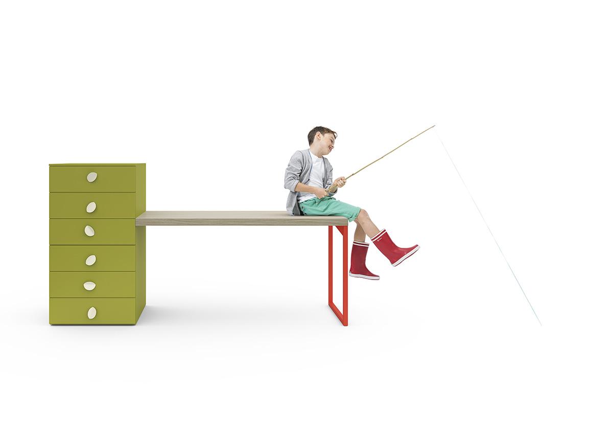 Varianti - Nidi - scrivania