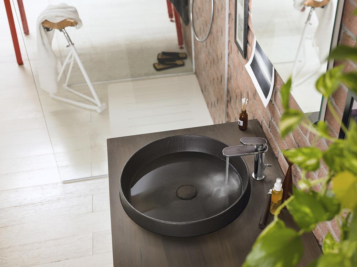 ©Varianti per Nobili Rubinetterie - catalogo Dress - dettaglio lavabo